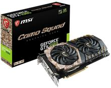 MSI GeForce GTX 1060 CAMO SQUAD 6G Graphics Card